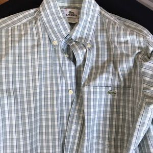 Lacoste button down shirt size 38